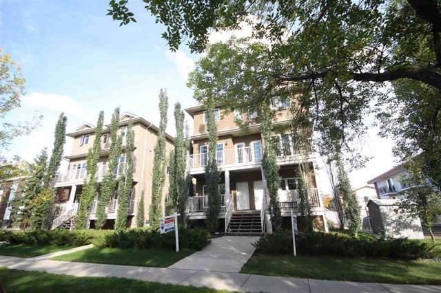 6 11913 103 Street, Edmonton, AB T5G 2R2 (#E4168011) :: The Foundry Real Estate Company