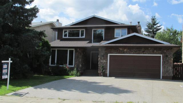 223 Gariepy Crescent, Edmonton, AB T6M 1C2 (#E4168210) :: David St. Jean Real Estate Group