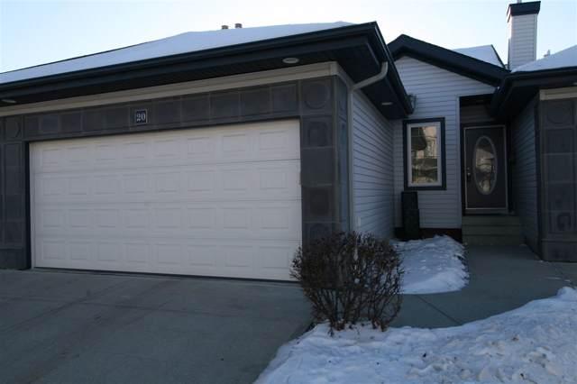 20 3003 34 Avenue, Edmonton, AB T6T 0A1 (#E4182764) :: Initia Real Estate
