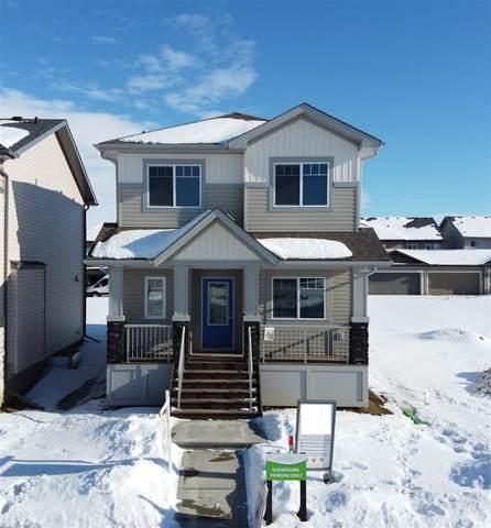 16 Hemingway Crescent, Spruce Grove, AB T7X 2L6 (#E4186502) :: Initia Real Estate
