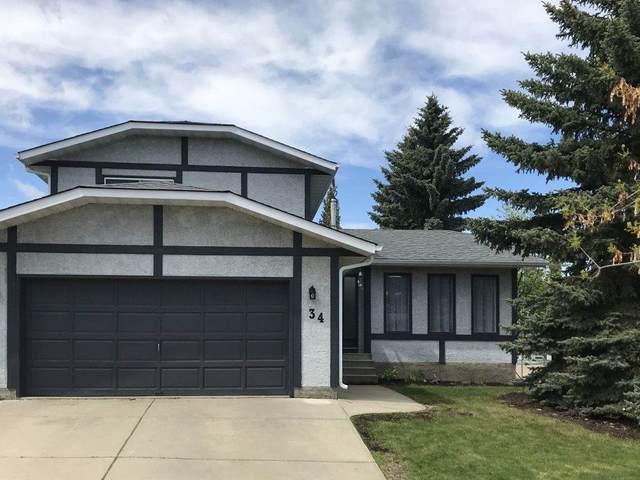 34 Fieldstone Drive, Spruce Grove, AB T7X 3C2 (#E4188895) :: Initia Real Estate