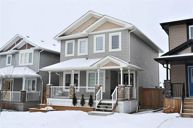 30 Veronica Hill(S), Spruce Grove, AB T7X 0H1 (#E4190321) :: Initia Real Estate