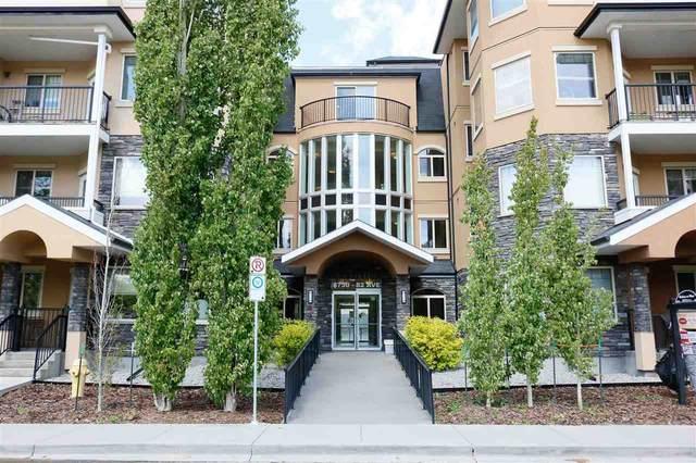 303 8730 82 Avenue, Edmonton, AB T6C 0Z1 (#E4199033) :: The Foundry Real Estate Company