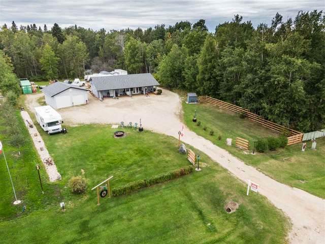 110 Lessard Lake Estates, Rural Lac Ste. Anne County, AB T0E 0J0 (#E4212330) :: Müve Team | RE/MAX Elite