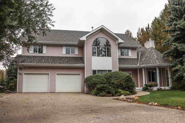 35 26413-Twp Rd 510, Rural Parkland County, AB T7Y 1E2 (#E4213608) :: The Foundry Real Estate Company