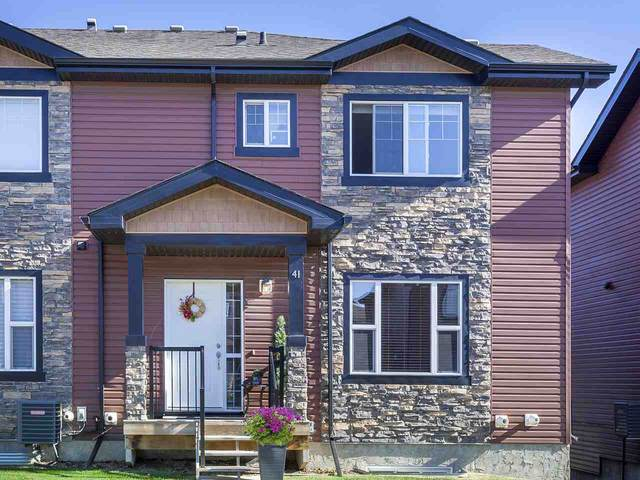 41 301 Palisades Way, Sherwood Park, AB T8H 0T4 (#E4216299) :: The Foundry Real Estate Company