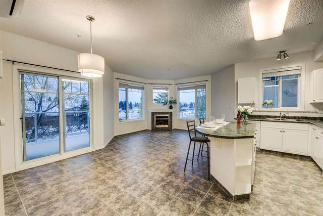 308 12111 51 Avenue, Edmonton, AB T6H 6A3 (#E4218612) :: The Foundry Real Estate Company