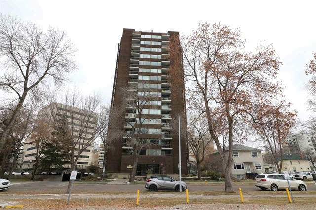 603 10025 113 Street, Edmonton, AB T5K 2K8 (#E4218706) :: Initia Real Estate