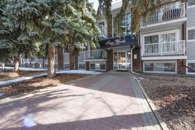 208 10225 117 Street, Edmonton, AB T5K 1X7 (#E4221072) :: RE/MAX River City