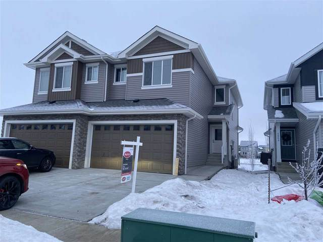 5805 65 Street, Beaumont, AB T4X 2A4 (#E4221122) :: The Foundry Real Estate Company