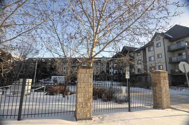 334 2903 Rabbit Hill Road, Edmonton, AB T6R 3A3 (#E4223142) :: The Foundry Real Estate Company