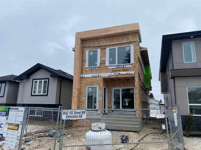 9843 153 Street, Edmonton, AB T5P 2A7 (#E4223257) :: The Foundry Real Estate Company