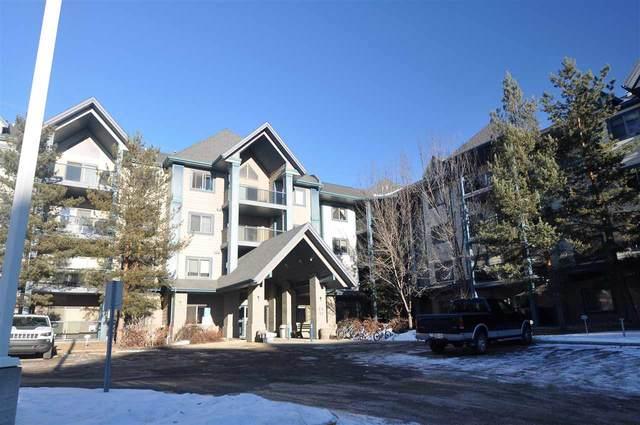 204 2903 Rabbit Hill Road, Edmonton, AB T6R 3A3 (#E4223432) :: The Foundry Real Estate Company