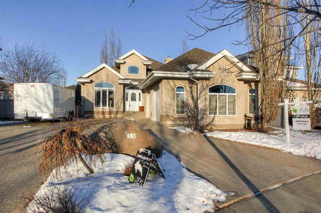 34 Kirkwood Drive, St. Albert, AB T8N 6X9 (#E4224411) :: The Foundry Real Estate Company