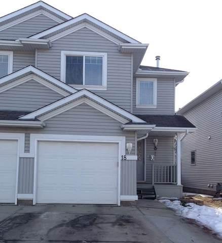 18 13403 Cumberland Road, Edmonton, AB T6V 1P9 (#E4224636) :: RE/MAX River City