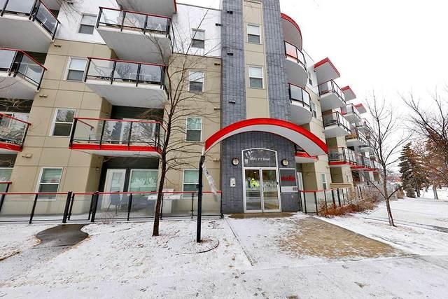 402 10611 117 Street, Edmonton, AB T5H 0G6 (#E4224840) :: The Foundry Real Estate Company