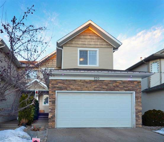 120 Castle Drive, Edmonton, AB T5X 6J1 (#E4225009) :: The Foundry Real Estate Company