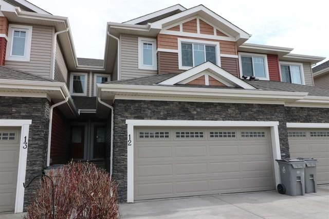 12 94 Longview Drive, Spruce Grove, AB T7X 0W3 (#E4228965) :: Initia Real Estate