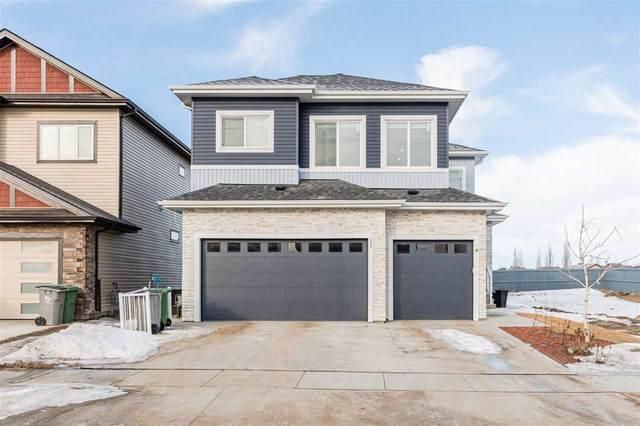 3012 Soleil Boulevard, Beaumont, AB T4X 2T5 (#E4231151) :: Initia Real Estate