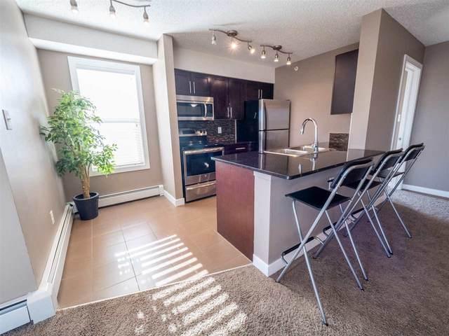 402 11803 22 Avenue, Edmonton, AB T6W 2R9 (#E4233501) :: Initia Real Estate