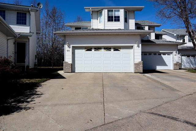 44 3 Poirier Avenue, St. Albert, AB T8N 6M6 (#E4233697) :: Initia Real Estate
