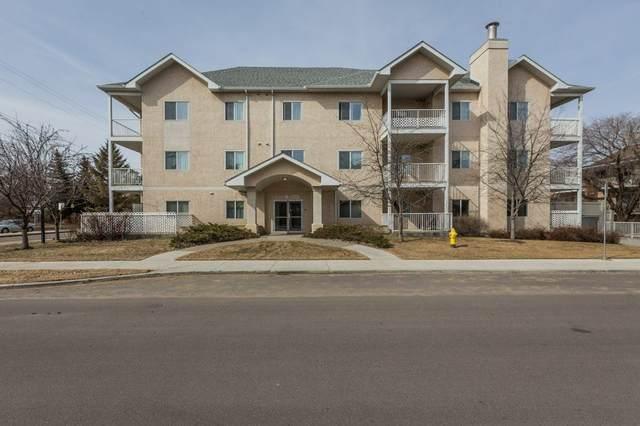 107 10008 151 Street, Edmonton, AB T5P 1T3 (#E4234031) :: Initia Real Estate