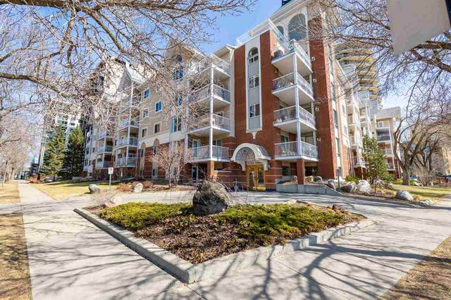 316 11716 100 Avenue, Edmonton, AB T5K 2G3 (#E4234501) :: The Foundry Real Estate Company