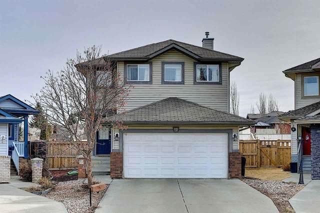 12 Westerra Co, Stony Plain, AB T7Z 2X1 (#E4235310) :: Initia Real Estate