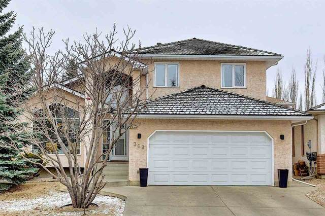 369 Burton Road, Edmonton, AB T6R 2J5 (#E4235367) :: Initia Real Estate
