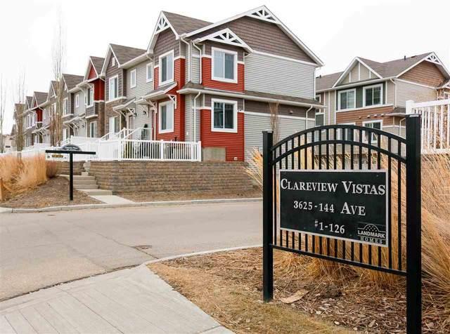 91 3625 144 Avenue, Edmonton, AB T5Y 0T3 (#E4236127) :: Initia Real Estate