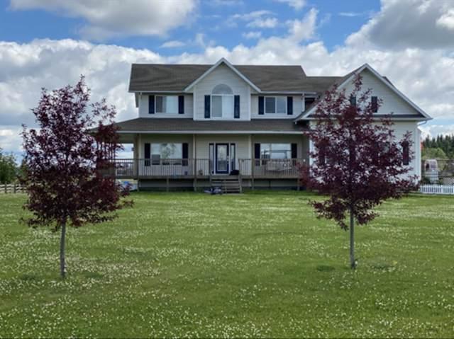 #1 42310 Twp Rd 632, Rural Bonnyville M.D., AB T9M 1P2 (#E4237045) :: Initia Real Estate