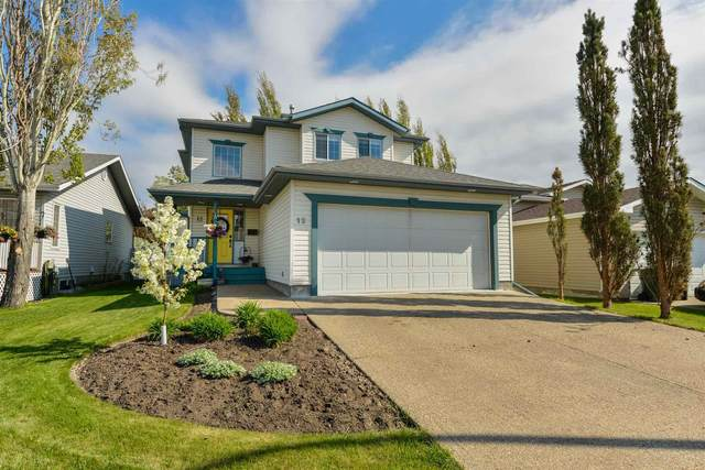 12 Deer Park Road, Spruce Grove, AB T7X 3K4 (#E4237410) :: Initia Real Estate
