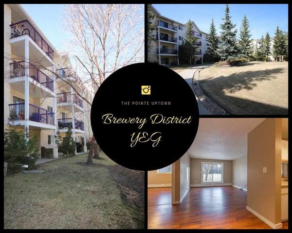 107 10636 120 Street, Edmonton, AB T8A 4K8 (#E4239440) :: RE/MAX River City