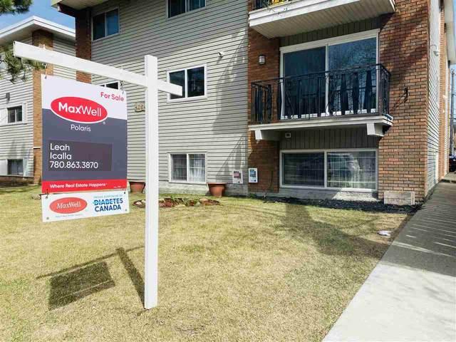201 10645 106 Street, Edmonton, AB T5H 2X7 (#E4240536) :: Initia Real Estate