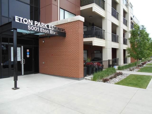 107 5001 Eton Boulevard, Sherwood Park, AB T5H 0N7 (#E4247813) :: Initia Real Estate