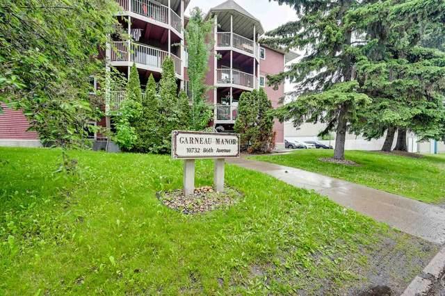 101 10732 86 Avenue, Edmonton, AB T6E 2M9 (#E4248808) :: The Good Real Estate Company