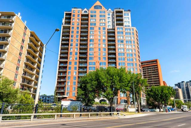 1201 9020 Jasper Avenue, Edmonton, AB T5H 3S8 (#E4252441) :: Müve Team | RE/MAX Elite