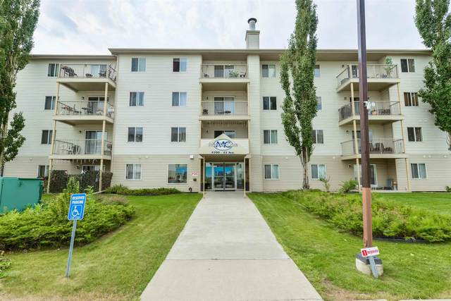 214 4700 43 Avenue, Stony Plain, AB T7Z 2S6 (#E4255749) :: The Good Real Estate Company
