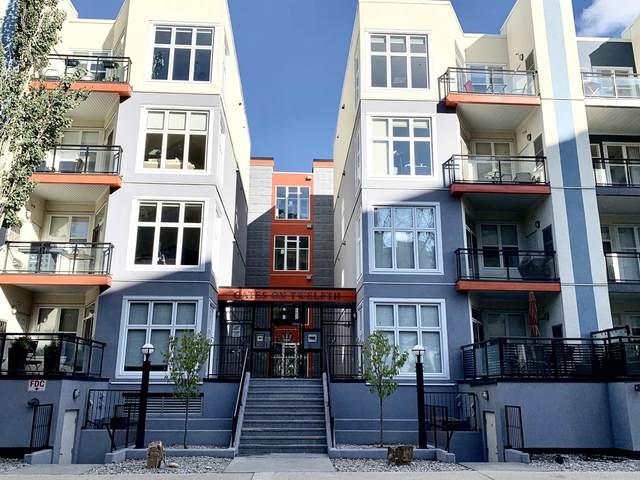 323 10147 112 Street, Edmonton, AB T5K 1M1 (#E4263669) :: Initia Real Estate