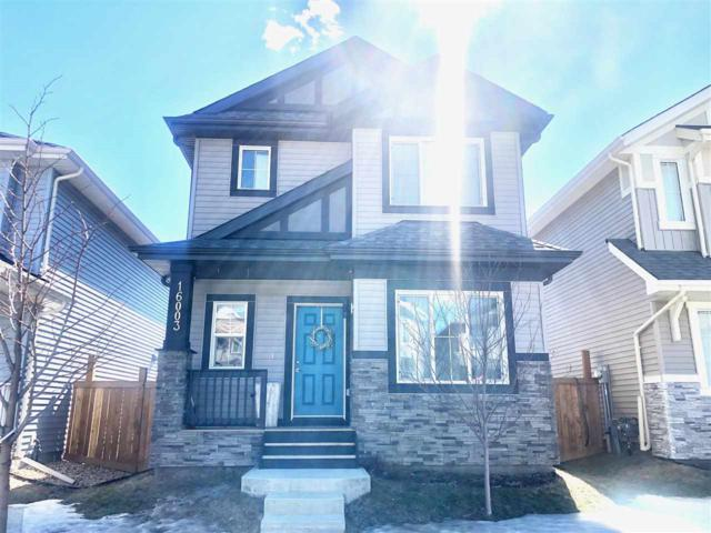 16003 13 Avenue, Edmonton, AB T6W 3N6 (#E4146734) :: David St. Jean Real Estate Group