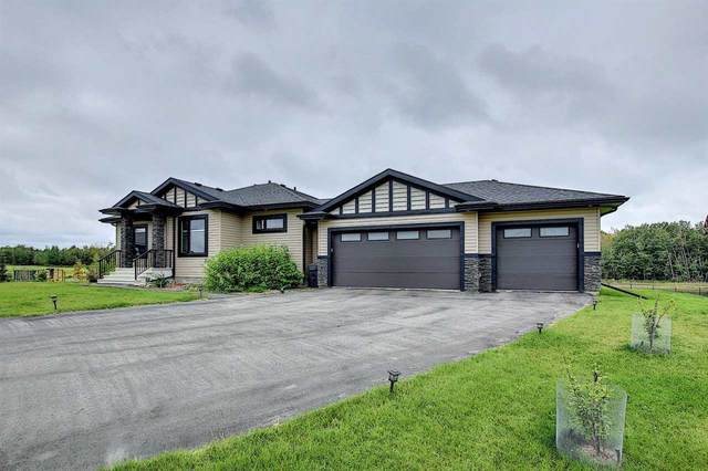 28 26409 TWP RD 532 A, Rural Parkland County, AB T7X 0W7 (#E4213877) :: The Foundry Real Estate Company