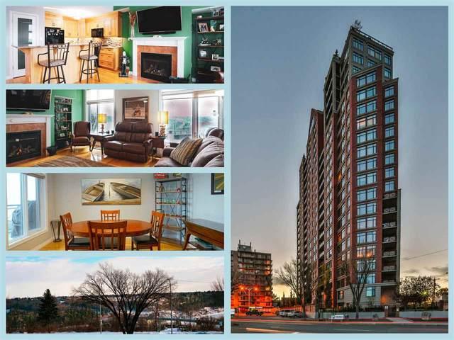 307 9020 Jasper Avenue, Edmonton, AB T5H 3S8 (#E4221602) :: The Foundry Real Estate Company