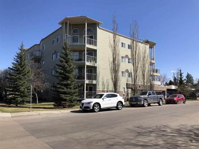 303 11207 116 Street, Edmonton, AB T5G 3K5 (#E4227743) :: Initia Real Estate
