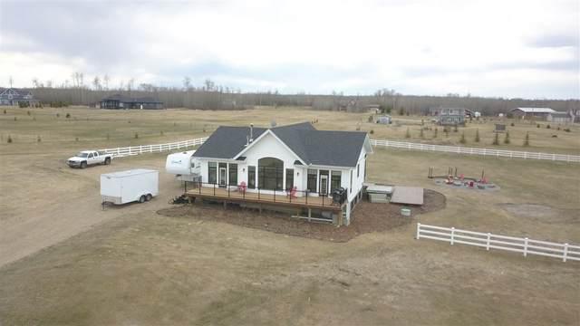410 21539 TWP RD 503, Rural Leduc County, AB T0M 3M0 (#E4228280) :: Initia Real Estate