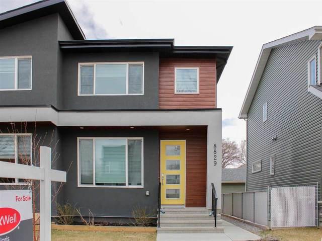8829 92 Street NW, Edmonton, AB T6C 3P9 (#E4239578) :: The Good Real Estate Company