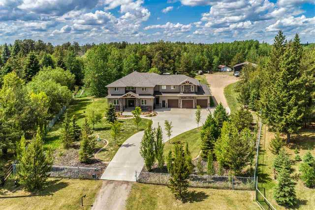 135 27019 TWP RD 514, Rural Parkland County, AB T7Y 1G6 (#E4185314) :: Initia Real Estate