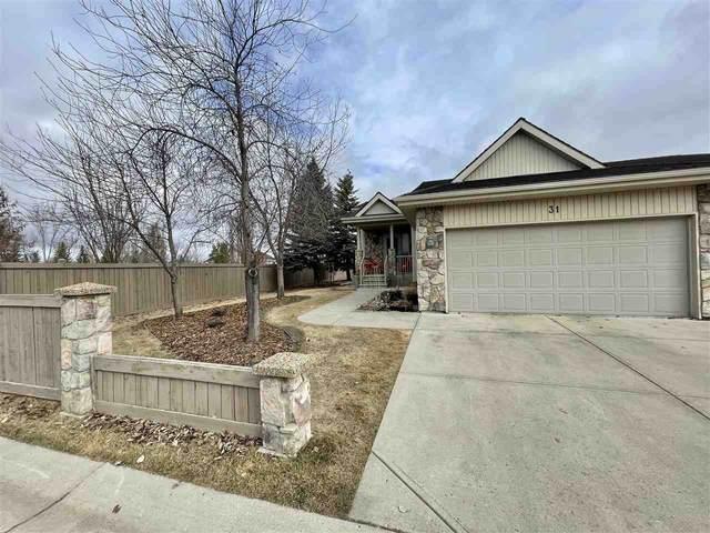 31 929 Picard Drive, Edmonton, AB T5T 6H3 (#E4228606) :: Initia Real Estate