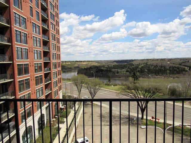 707 9028 Jasper Avenue, Edmonton, AB T5H 3T2 (#E4242040) :: Initia Real Estate
