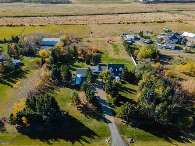 260 50302 RGE RD 244 A, Rural Leduc County, AB T4X 0P4 (#E4226301) :: RE/MAX River City
