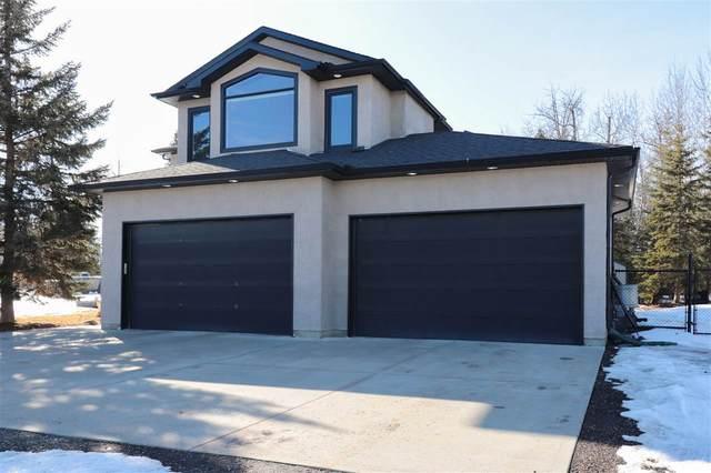 52-53305 Range Road 273, Rural Parkland County, AB T7X 3N3 (#E4236158) :: Initia Real Estate